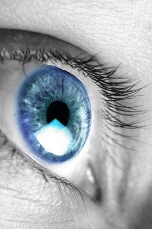 eye, blink